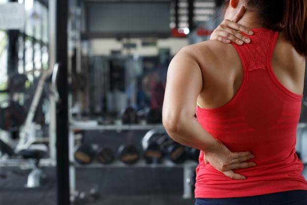 Smerter i skulder nakke og ryg