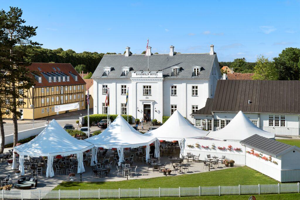 Bandholm Hotel er et af de mest romantiske badehoteller Sjælland kan byde på